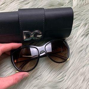 Dolce & Gabanna Brown/Gold Tortoise Sunglasses